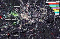 Aerial Tweet Maps