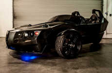 The All-Electric EpicEV Torq Trike Would Be Proudly Driven by Batman