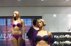 The Ahlens Mannequins Markets a Healthier Ideal for Beauty