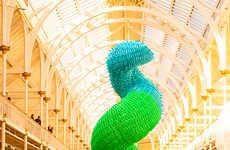 Zodiac-Inspired Balloon Sculptures