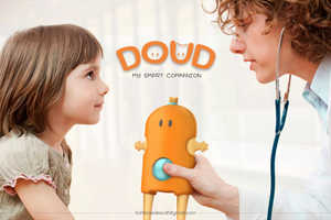 The CHRU DOUD is an Informative and Comforting Friend to Child Patients