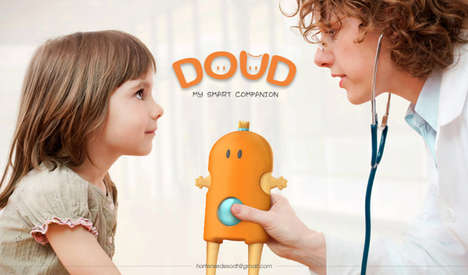 Amicable Medical Toys - The CHRU DOUD is an Informative and Comforting Friend to Child Patients