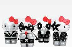 Rocker Feline TV Shows - The 'Kiss Hello Kitty' Cartoon is Set to be Produced by Gene Simmons