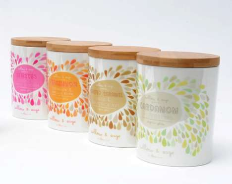Willow & Sage Organic Gelato Packaging
