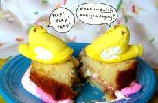 This Peep Fluffernutter Combines Cake, Candy and Marshmallows