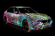 Artistically Designed Autos - Visual Artist Andy Reiben Makes the BMW a Work of Art