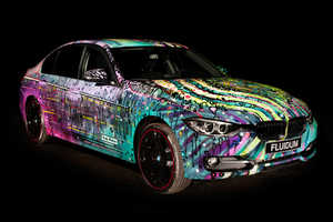 Visual Artist Andy Reiben Makes the BMW a Work of Art