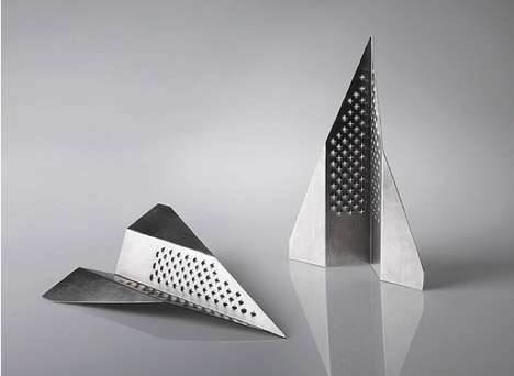 18 Unusual Cheese Grater Designs - From Bendable Food Graters to Paper Plane Graters