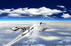 Super-Sonic Space Tours - The SXT-A Iron Is a Concept Plane That Will Make Record Time for Tavel
