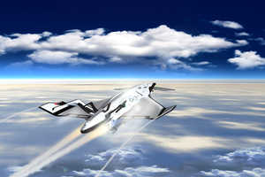 The SXT-A Iron Is a Concept Plane That Will Make Record Time for Tavel