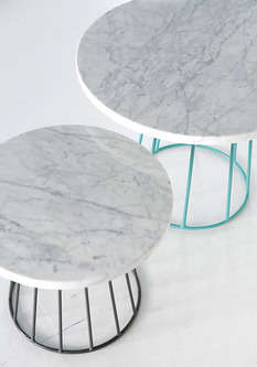 Contemporary Marble Furniture - The Marmo Table by Olof Jakobina is Minimalist and Opulent