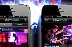 Crowdsourced Concert Review Apps - ShowScoop Brings Crowdsourced Concert Reviews to Your Mobile