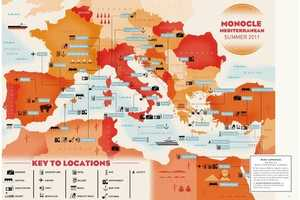 This World Map is Inspired by Illustrators and Storytellers