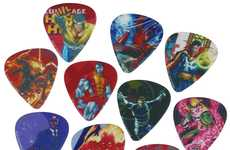 Superhero Chord Strummers - Marvel Comics Has Come Out with a Pack of Awesome Guitar Picks