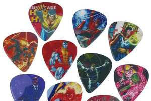 Marvel Comics Has Come Out with a Pack of Awesome Guitar Picks