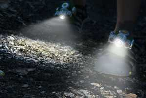 The Expedition LED Shoe Lights Shine a Light on the Path Ahead