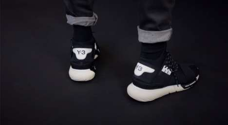 Futuristic Running Shoes - Y-3 Combines Technology and Fashion in its Latest Running Shoe