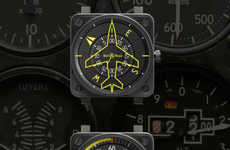 Plane-Inspired Watches - The Bell & Ross Aviation Collection Soars to Whole New Heights