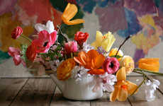 Adult Arts-and-Crafts Bouquets - New York Florist Amy Merrick Shows How to Style Mothers Day Flowers