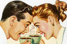 Celebratory Coffee Timelines - Nestle Created a Slideshow for Nescafe's 75th Year Anniversary