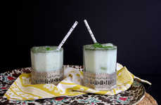 Salt-Infused Summertime Beverages - The Mint and Cumin Salted Lassi Drinks Are Unusually Delectable