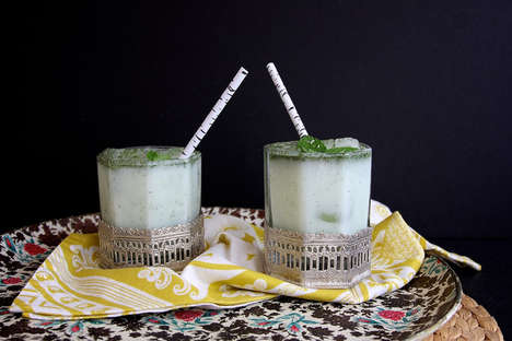 Mint and Cumin Salted Lassi