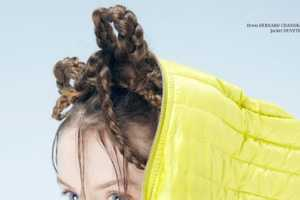 This SS13 Photo Shoot for Open Lab Magazine Features Bundles of Braids