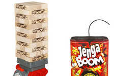 Imminent Explosion Building Blocks - Jenga Boom Cuts Playing Time by Putting Players Under Pressure