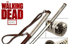 Zombie Fighting Samurai Swords - The Walking Dead Michonne Sword is Crafted for the Die-Hard Fan