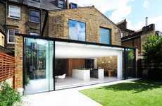 Rustically Modern London Flats