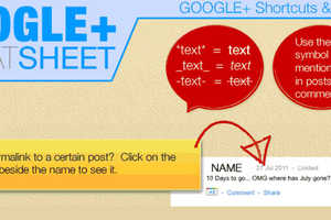 This Infographic Teaches Key Shortcuts and Google+ Tricks