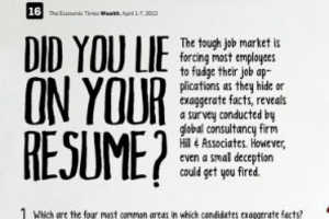 This Guide Shows the Devastating Possibilities of Lying on a Resume