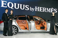 Luxurious Designer Car Collaborations - Hyundai Commissioned Hermes to Create Three Equus Cars