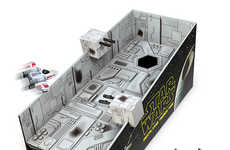 Sci-Fi Lawn Games - ThinkGeek's Star Wars Death Star Game is Out of This World