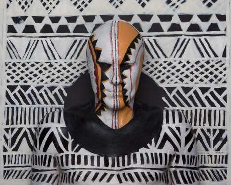 Tribal Body Paint Art