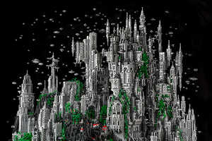 The LEGO City of Odan is a Marvel of Building Block Ingenuity