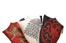 TV Fantasy Throw Pillows