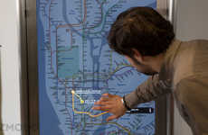 Interactive Subway Screens