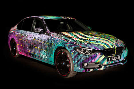 70 Glowing Neon Products - From Artistically Designed Autos to Electrically Illuminated Lingerie