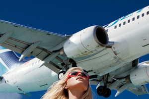 The US Harper's Bazaar Off The Runway Photoshoot is Aerial