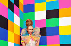 Kaleidoscopic Pop-Art Captures - The WOW Design Scene Exclusive Displays a Spectrum of Electric Hues