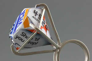 Kristal Romano Uses Old Credit Cards to Craft Gorgeous Trinkets