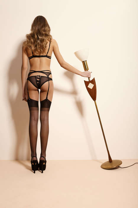 Quirky Lingerie Ads - The Feu de Venu AW13 Campaign is Playfully Provocative