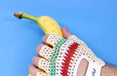 Crocheted Bicycle Gloves