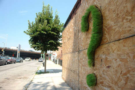 Grassy Street Art - Mosstika Urban Greenery Decorates Urban Landscapes in Eco-Conscious Ways