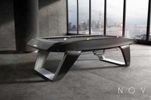 The Novus Pool Table is an Avant-Garde Take on the Classic Game