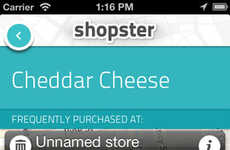 Geo-Tagging Grocery Applications - The Shopster Smartphone Tool Reminds Users of Items Needed