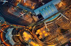 Aerial Airport Photography - Jeffrey Milstein's JFK Pictures Capture Travel Chaos From Above
