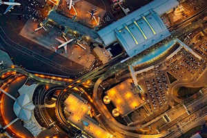 Jeffrey Milstein's JFK Pictures Capture Travel Chaos From Above