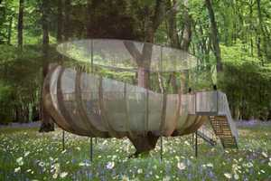 These High-Tech Tree Houses Bring Green Shelter to Urban Areas